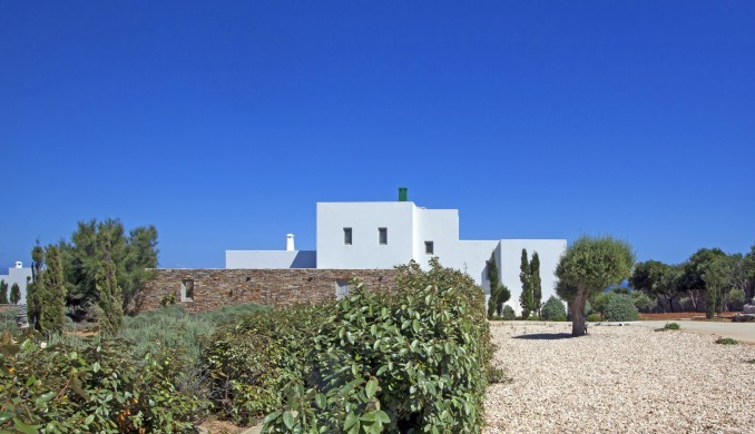 Villa Elina Pool - Antiparos, Greece:facade.JPG