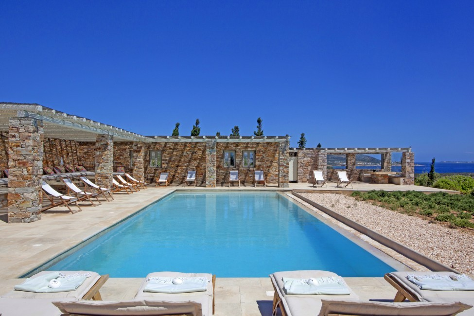 Villa Elina Pool - Antiparos, Greece:pool1.JPG