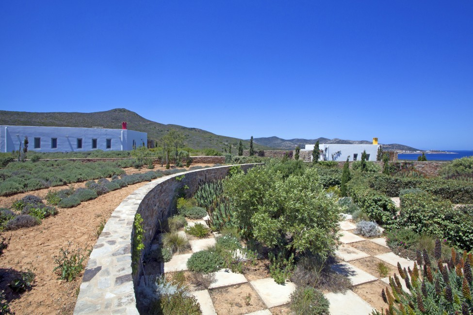 Villa Elina Pool - Antiparos, Greece:garden.JPG
