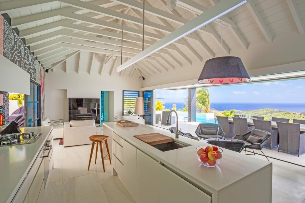 Villa Reyne Bathroom - St. Barths:kitchen908.jpg